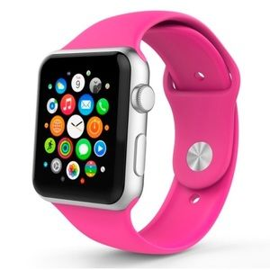 NEW Barbie Pink Sport Band For Apple Watch
